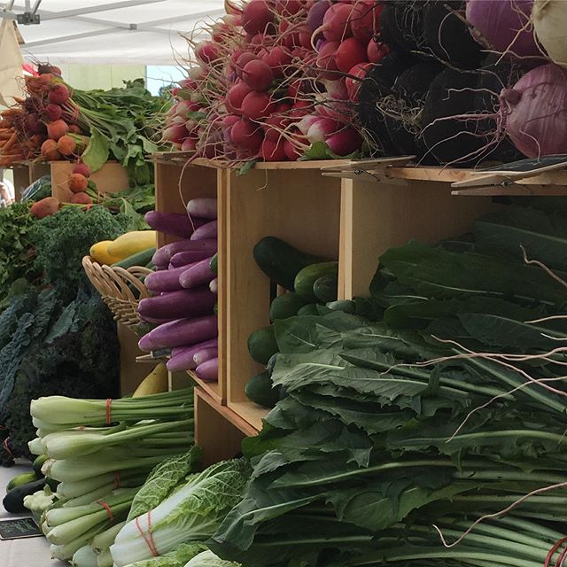 Come visit us this weekend to stock up on fresh organic veggies! We will be at Derwood on Saturday 9-1 and Olney Sunday 9-1! #localfarm #certifiedorganic