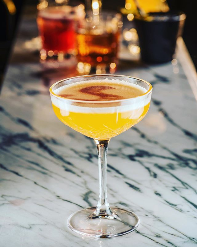One Lisbon for the road? Let's start #cocktailconversations with one of our Vasco da Gama cocktails starting with our Lisbon cocktail #cocktailcraft