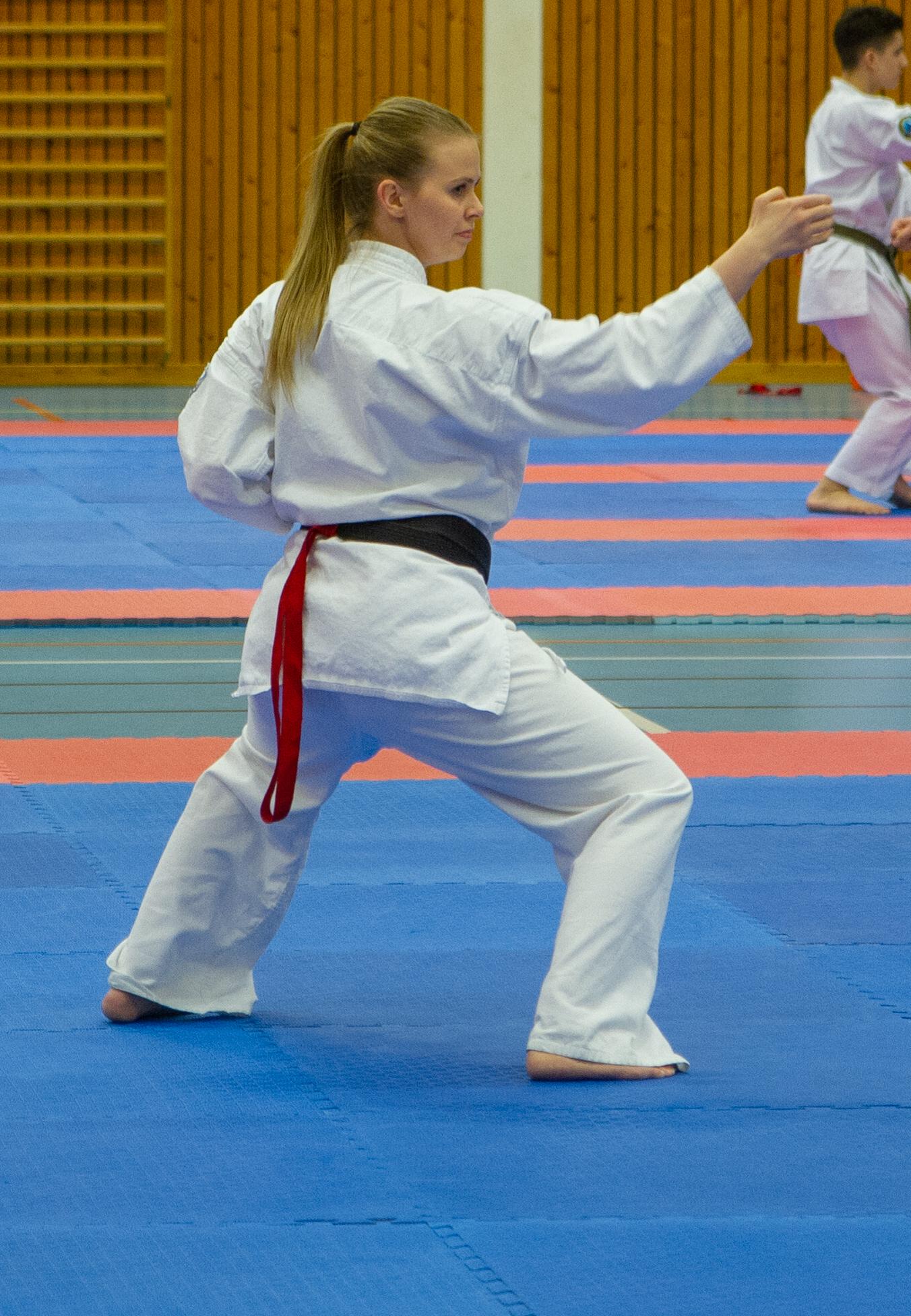 Katakonkurranse - Her ser vi et eksempel fra NM 2019, hvor Line går en meget bra kata.