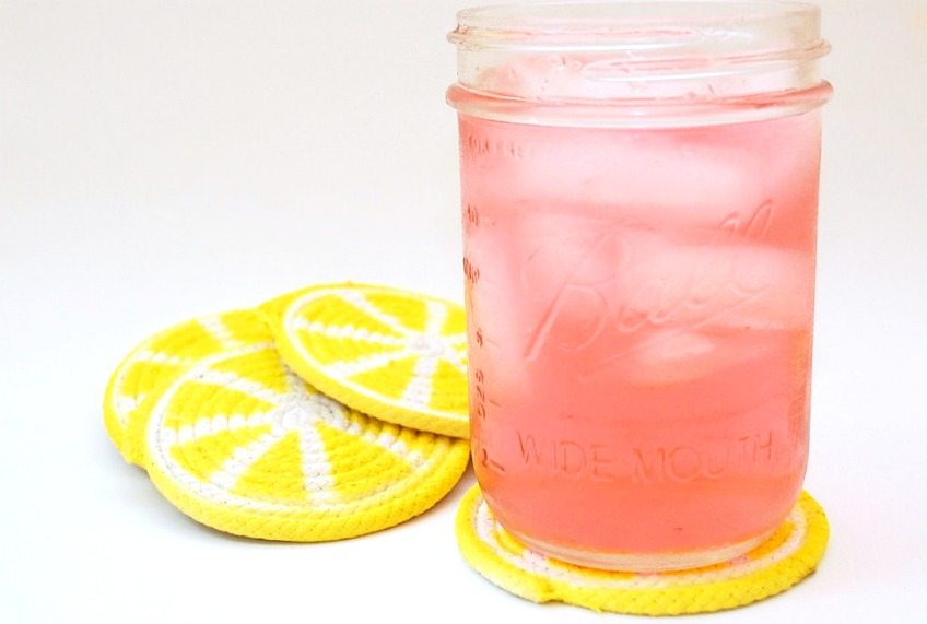 Coasters are very important items & these look like lemons.. YAY
