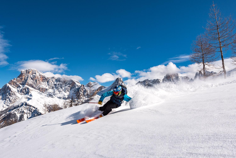 Lo stile di foto che avevo immaginato e studiato per l'Arc'teryx King of Dolomites. Non consideranto le situazioni di brutto tempo che abbiamo trovato.