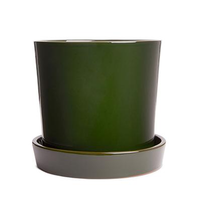 Teracotta Flowerpot green - € 29 - Arket