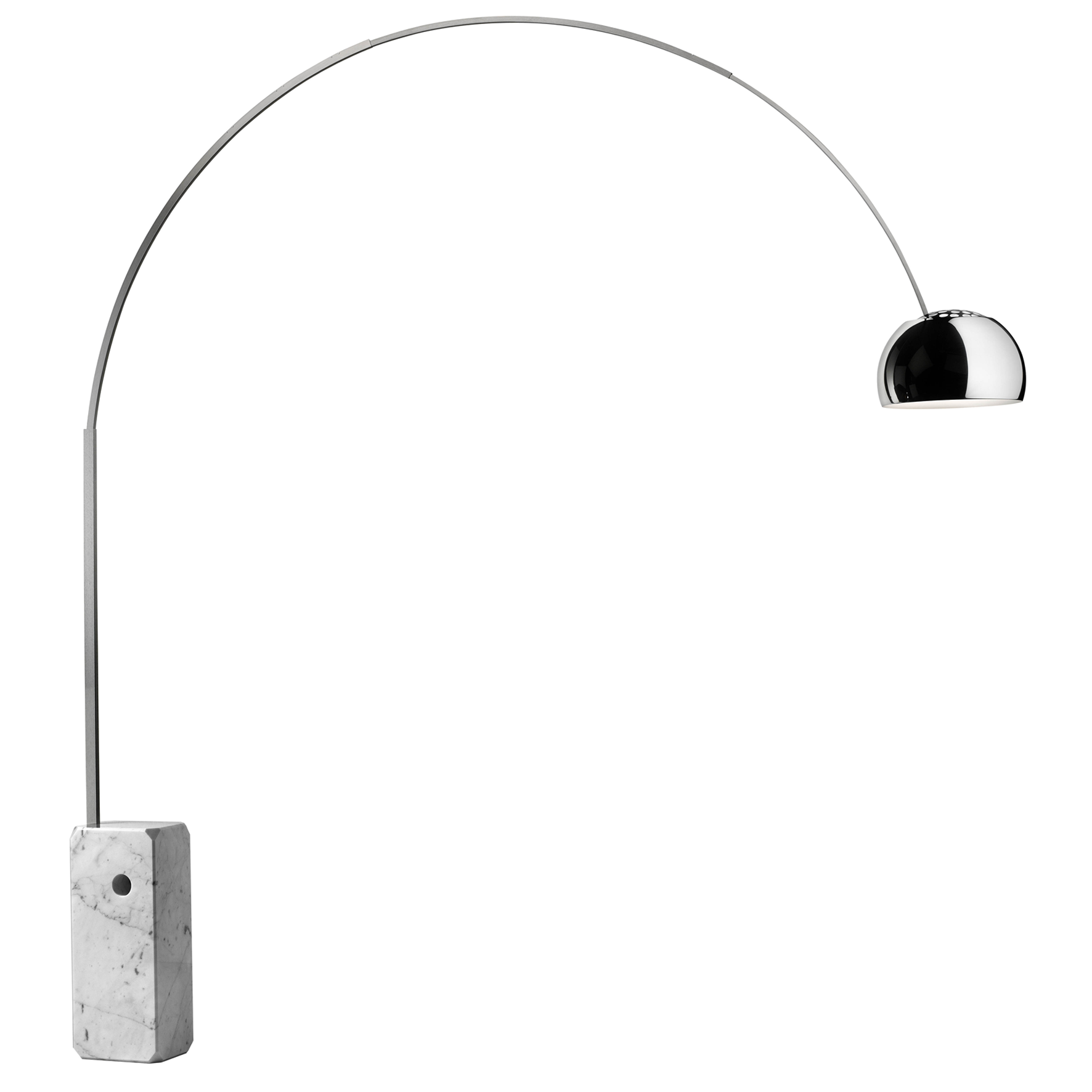 Arco - Achille and Pier Giacomo Castiglioni, 1962 -Flos - price on request - Flos.com