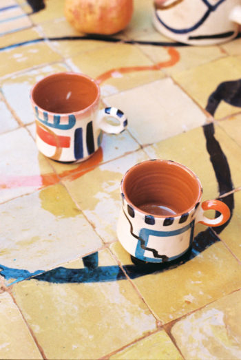 Cups set of two - LRNCE - 30 € LRCNE