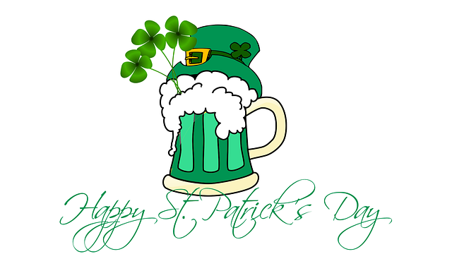 happy st patrick's day, Babel academy, 17th March.png