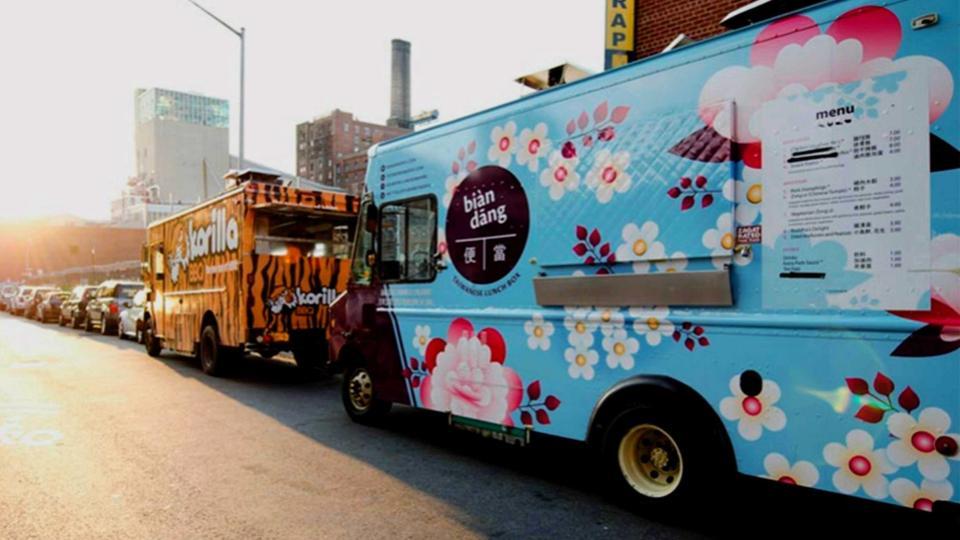 The HUBs' food trucks -