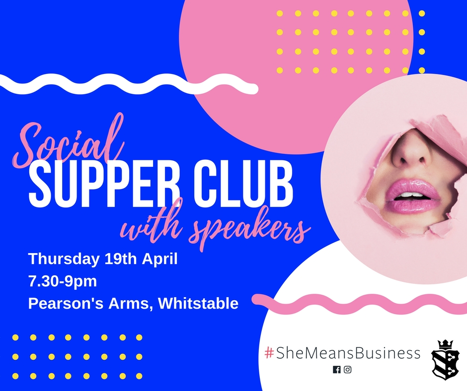Social Supper Club with speakers - Join us for an evening of inspiration