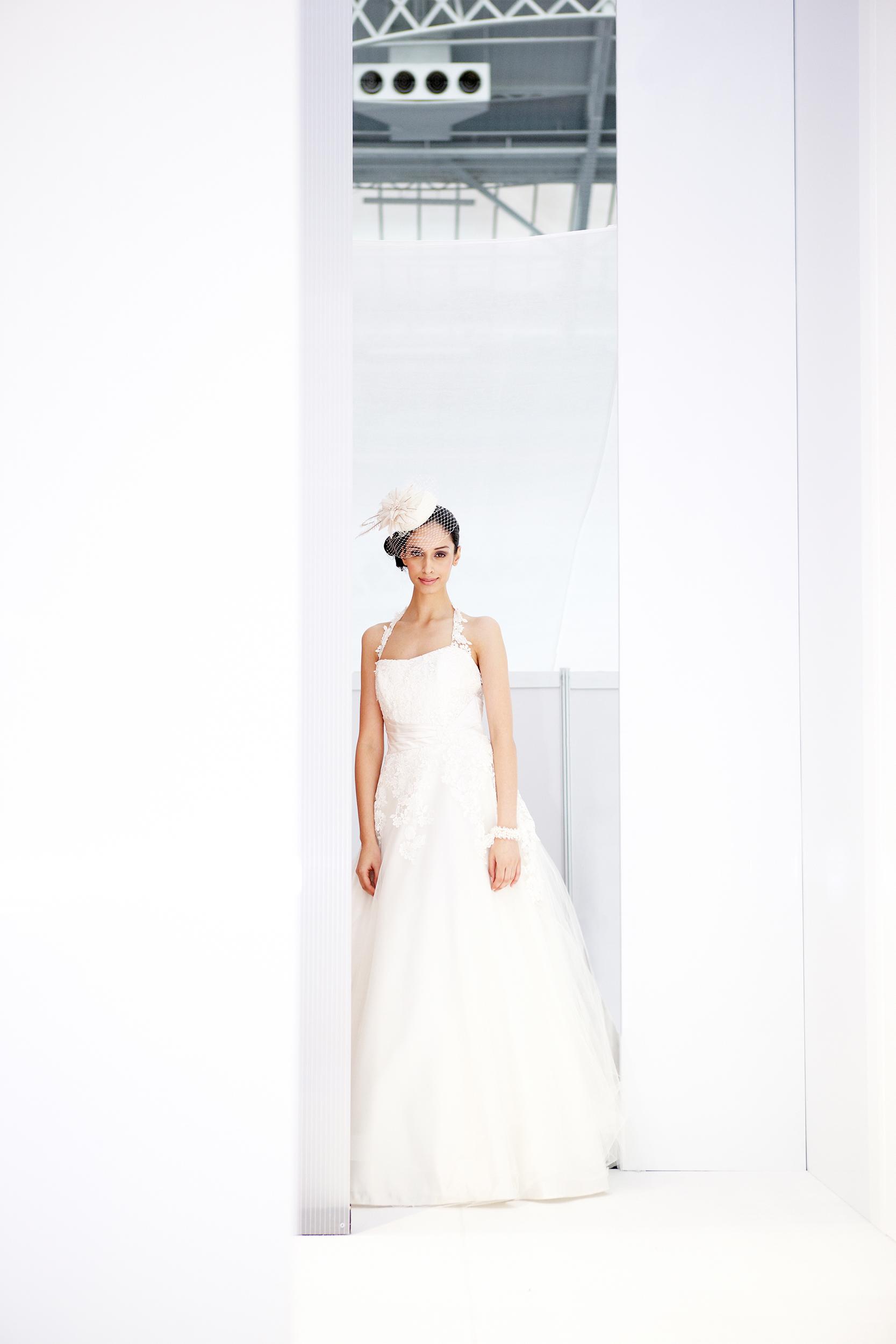 full length wedding dress