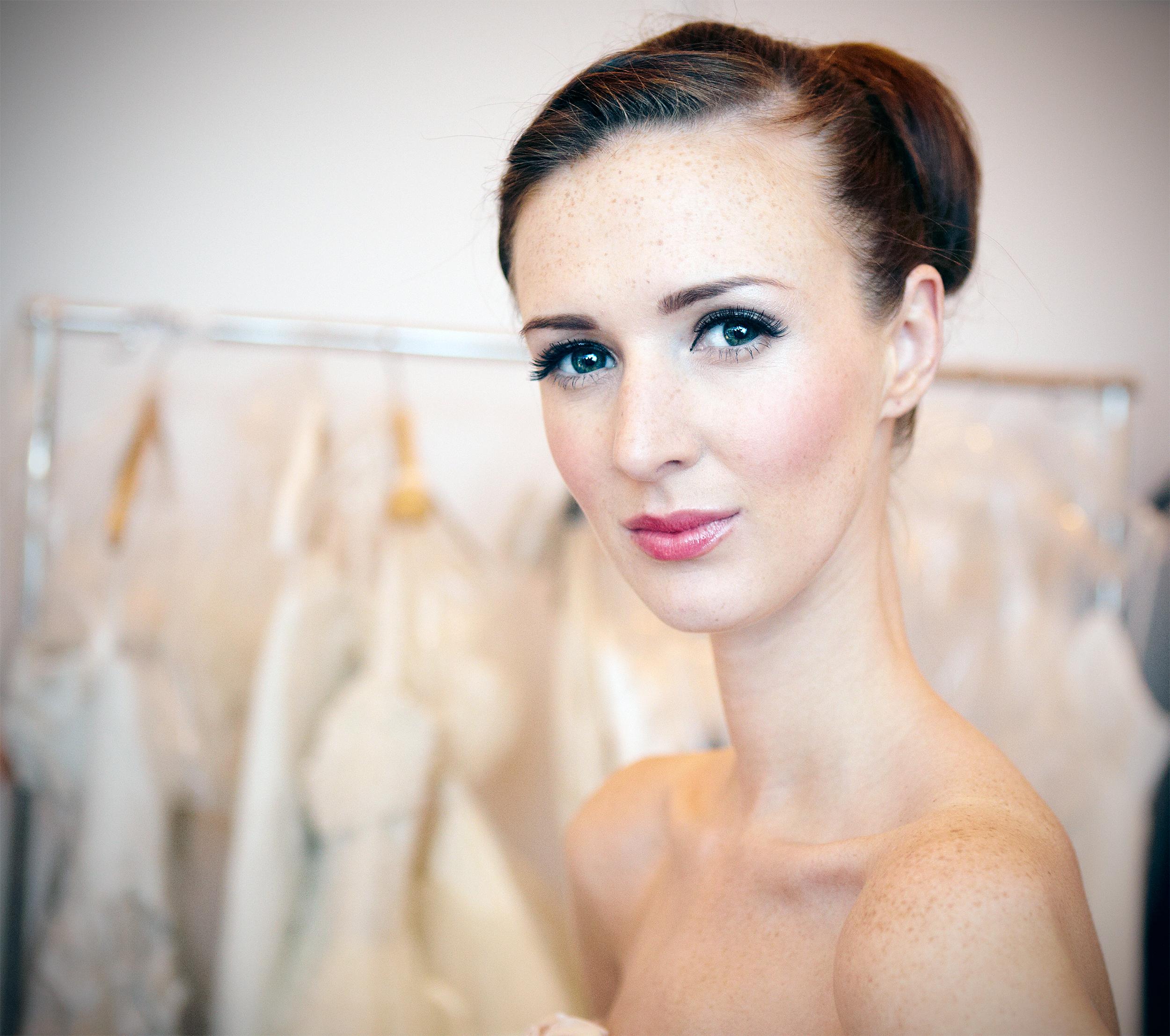 wedding beauty portrait