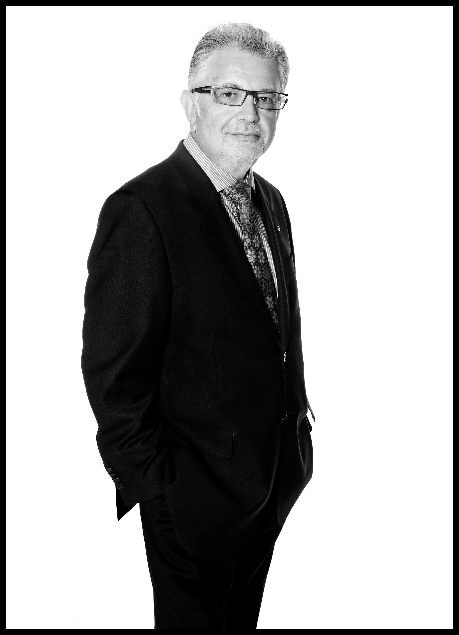 businessman in a suit portrait