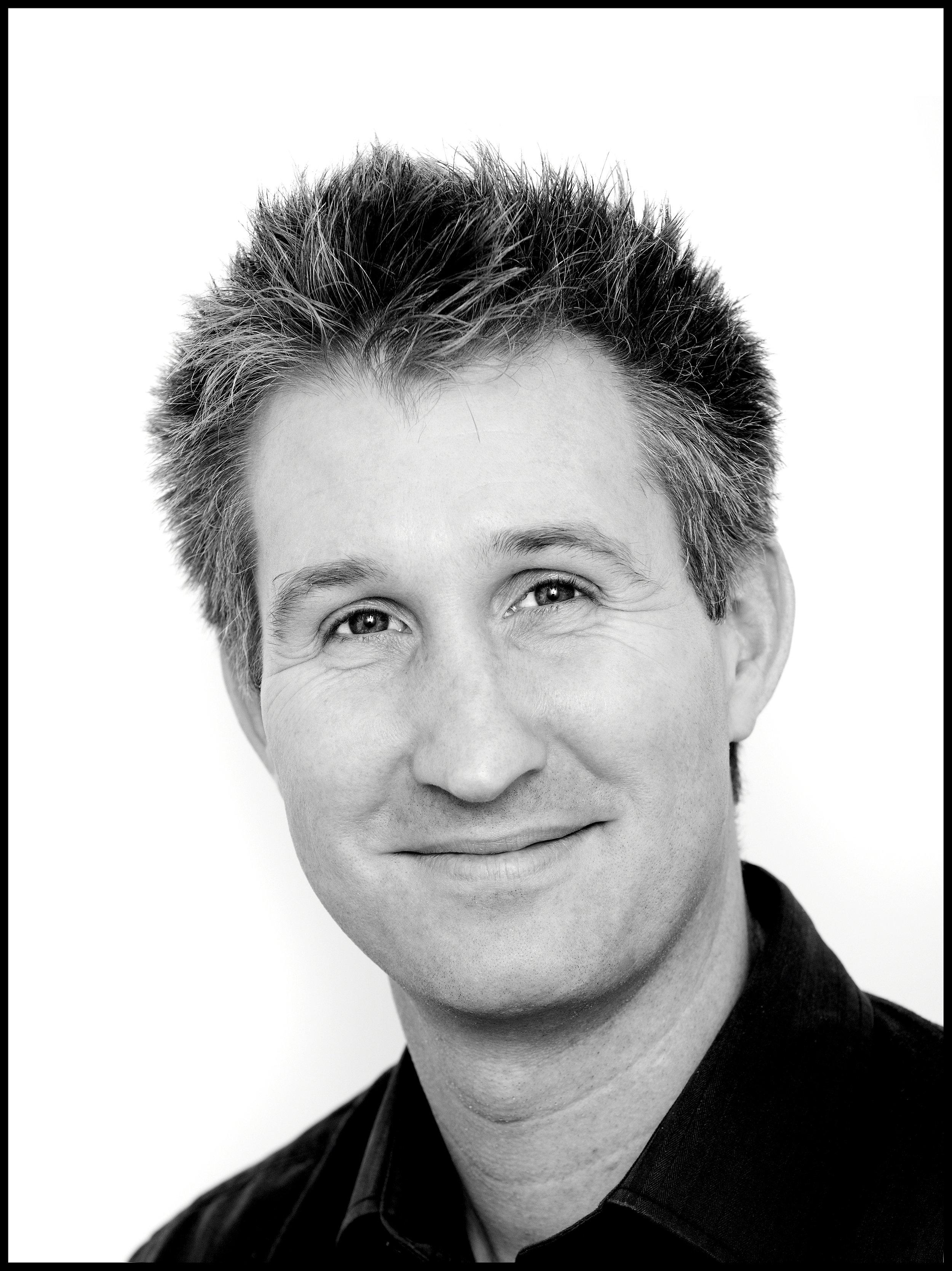 happy corporate man smiling portrait