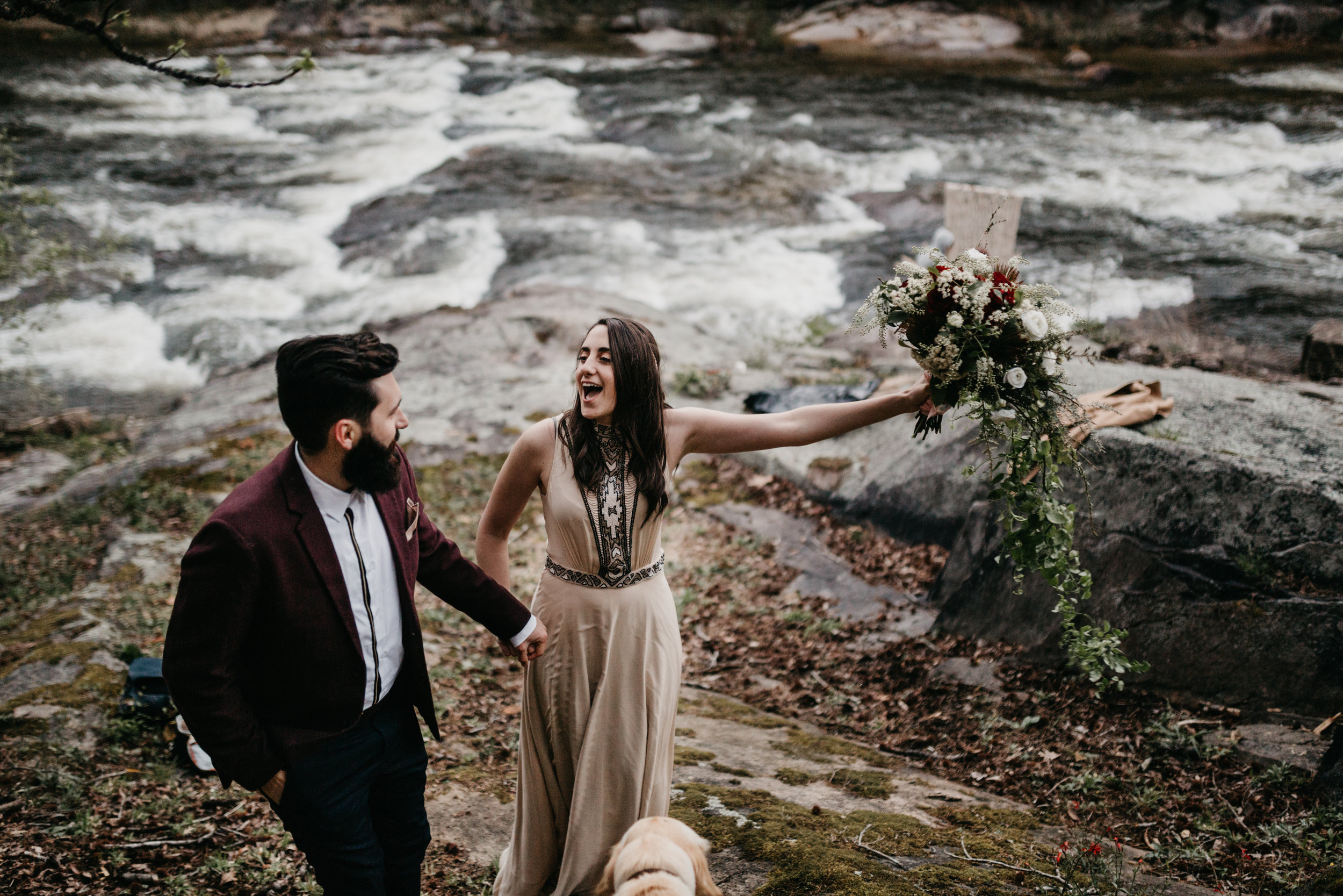 ELOPEMENT in the mountains raleigh, nc