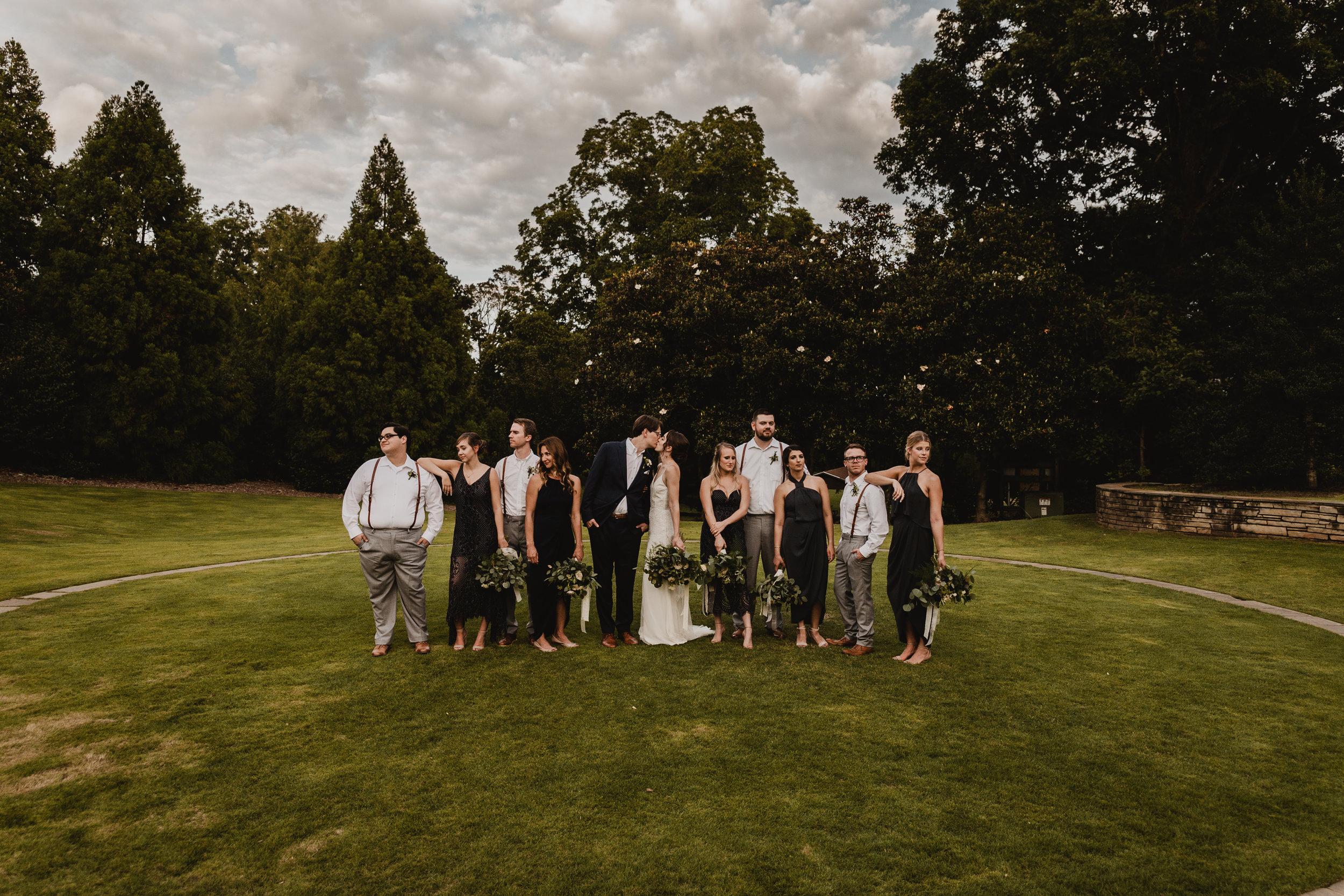 outdoor wedding Raleigh NC