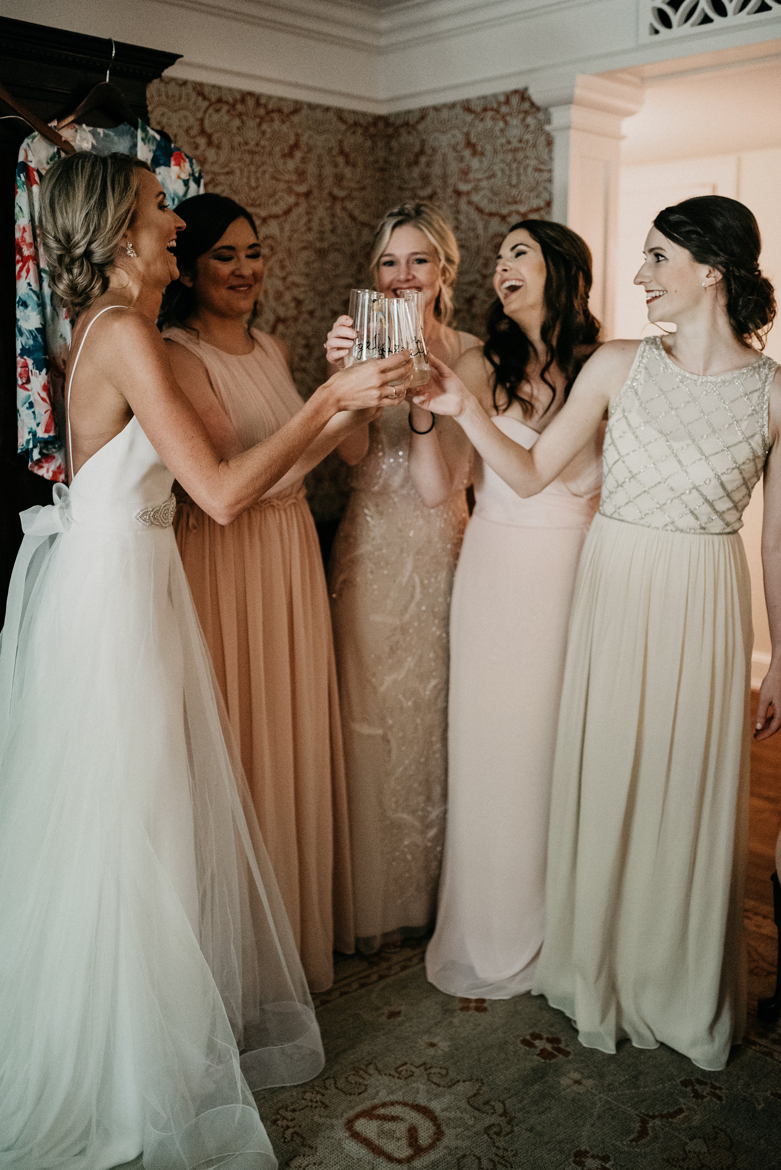 bridal party wedding planner events raleigh