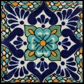Ceramic tile  Ceramic tiles are known for their ample amount of resistances. Many ceramics are of the handmade variety in order to reclaim the old-world charm.  Typically used in high traffic areas and come in a multitude of colors and sizes.