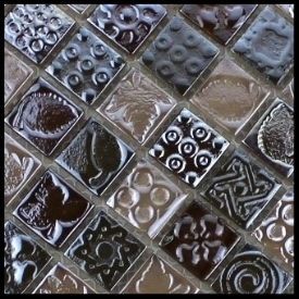 DECORATIVE metalS  Used as accents on walls, borders, floors and much more. Comes in a variety of colors, shapes & styles. Other decorative options include stone and glass.