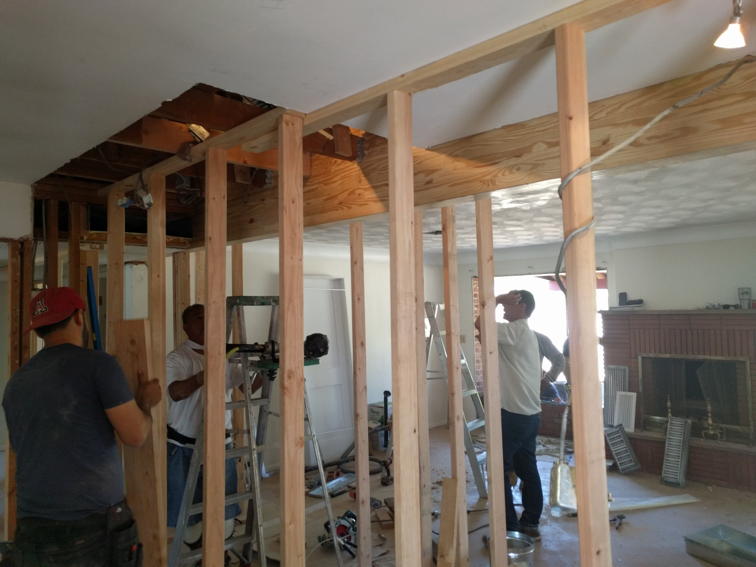 We will build your new space.....