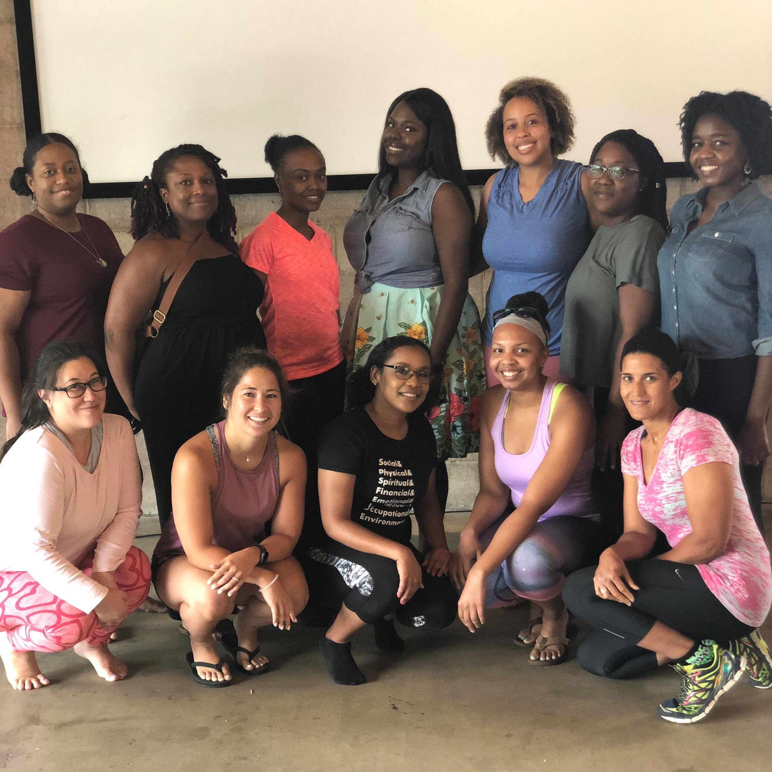 Partnership with SweatNET CLT - CHARLOTTE POP-UPJuly 7, 2019Together we came in a safe, transparent space to find balance, relax, release, and most importantly, learn how to take steps to unlock our possibilities.The women in attendance were provided with a therapist-lead wellness session, an anonymous Q&A session, mindfulness and breathing exercises, customized goody bags, and much more!