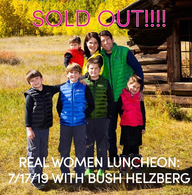 Another SOLD OUT REAL WOMEN LUNCHEON !!!! Thank you!!! 👯♀️👯♀️👯♀️👯♀️👯♂️👯♂️❤️