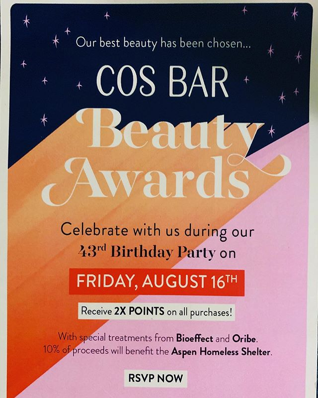 Time to get  your beauty on ladies...💄💋 Happy Birthday Cosbar 🎂🎉😘