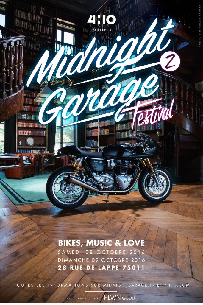 Midnight Garage Festival N°2  - Second edition of this event who take place in Paris Organized by 4H10 (French Webzine)