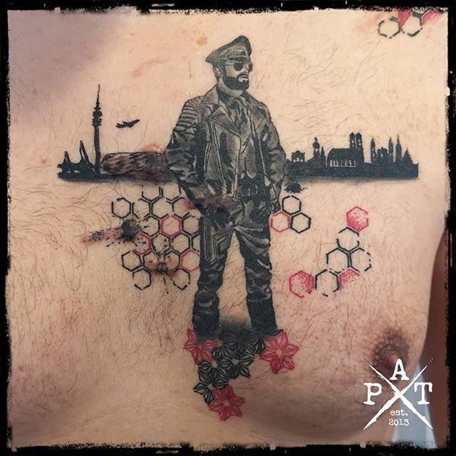 Healed tattoo I did a few weeks ago  #tattooing #tattoosofinstagram #tattoostudio ##tattooing #tattoosofinstagram #tattoostudio #tattooink #tattoodesign #tattooedmen #tattooist #tattooed #tattoolove #tattoo #tattoos #tattooartist #tattooshop  #inkbypat #munich #münchen #germany #worldfamousink #blackandgreytattoo #ezcartridgecouk #eztattooing