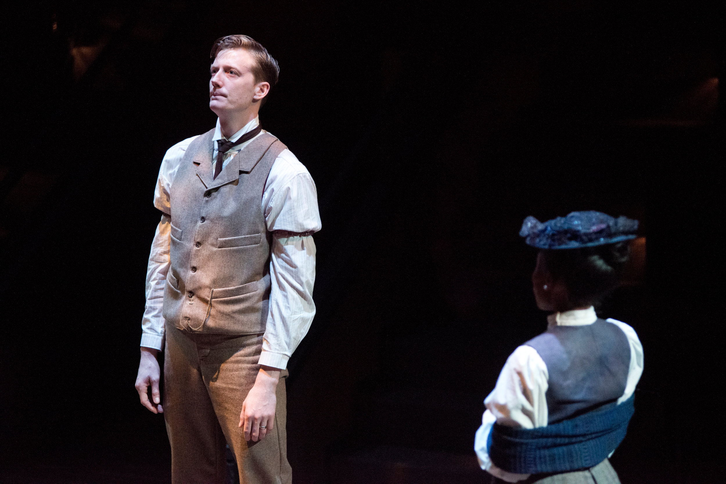 Our Town  by Thornton Wilder. Directed by Steve Pearson. Photo by Jason Ayres.