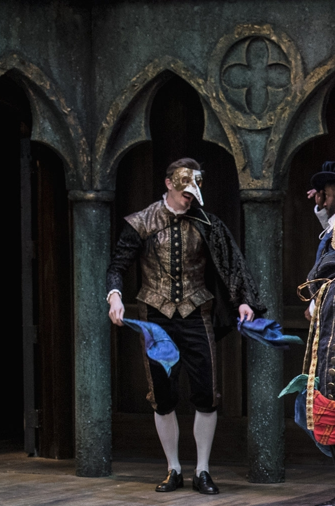2018  Merchant of Venice  at the Utah Shakespeare Festival, directed by Melinda Pfundstein.  Photo by Karl Hugh