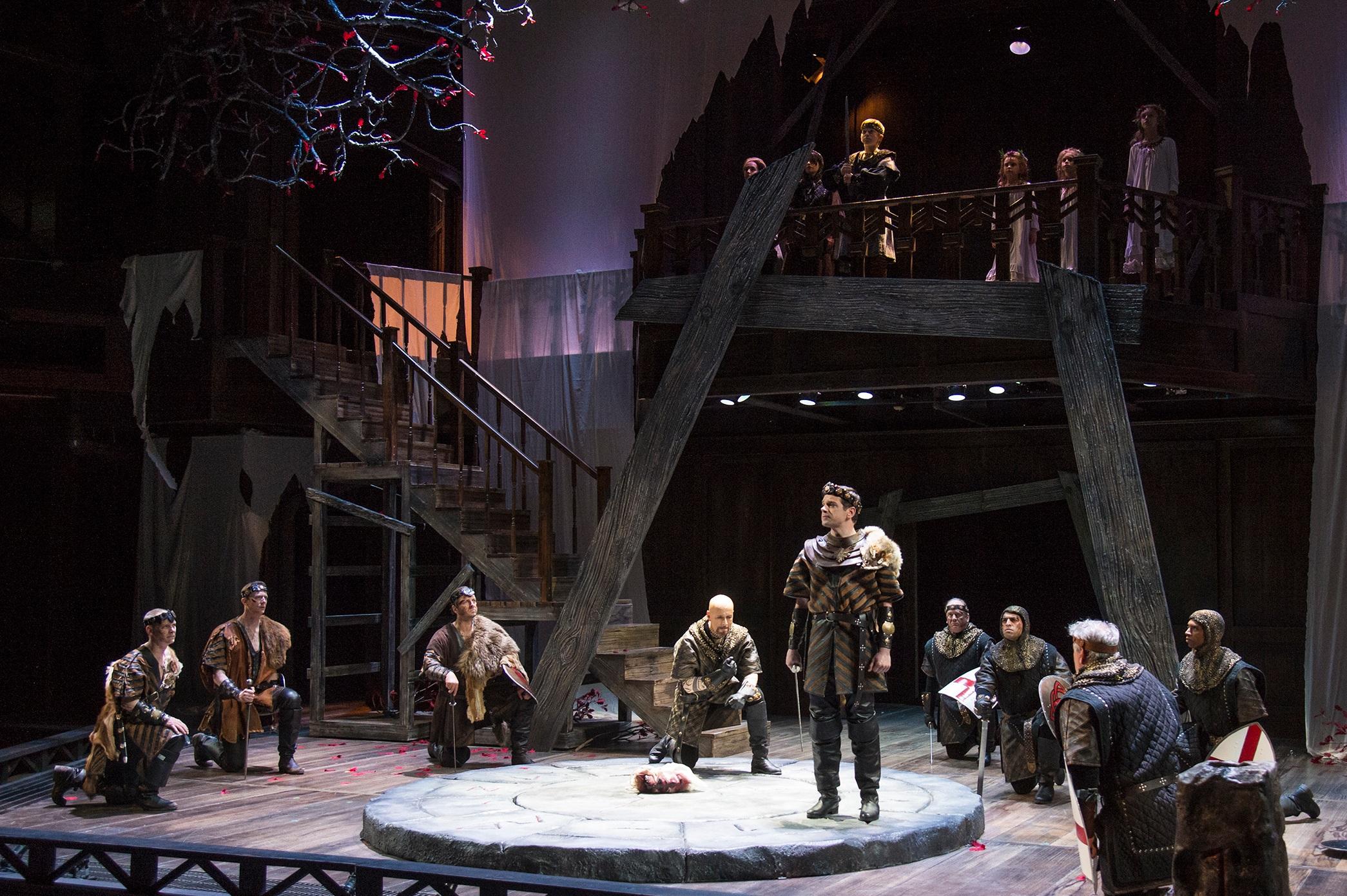 2019  Macbeth  at the Utah Shakespeare Festival, directed by Melissa Rain Anderson.  Photo by Karl Hugh
