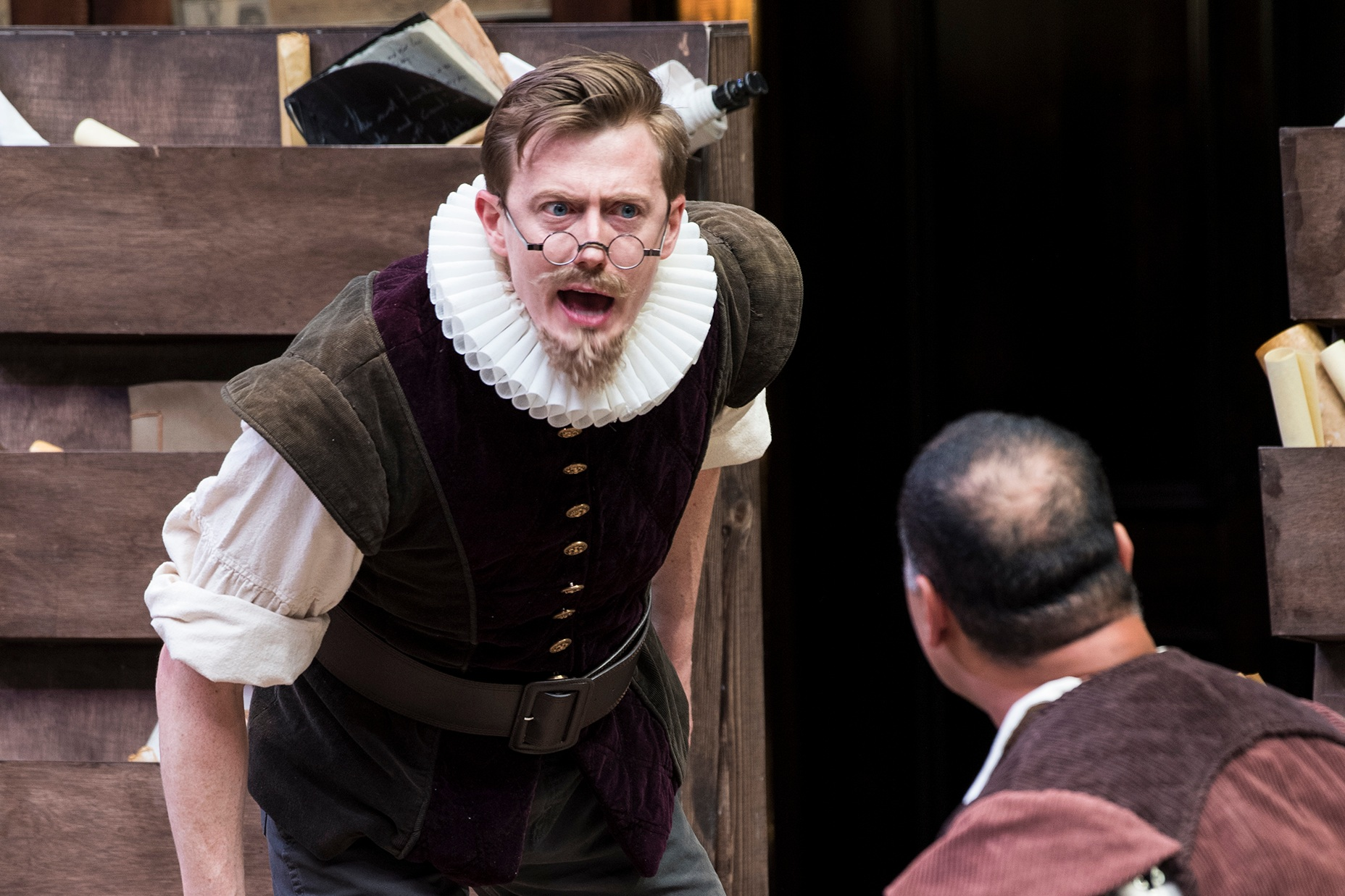 2019  The Book of Will  at the Utah Shakespeare Festival, directed by Melinda Pfundstein.  Photo by Karl Hugh