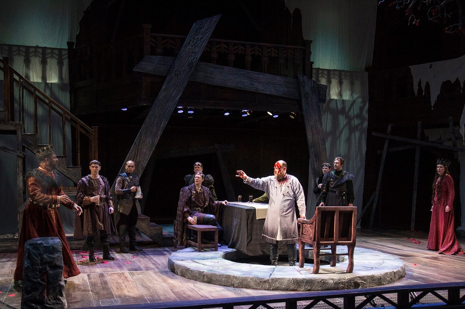 2019  Macbeth  at the Utah Shakespeare Festival, directed by Melissa Rain Anderson.  Photo by Casey Duke