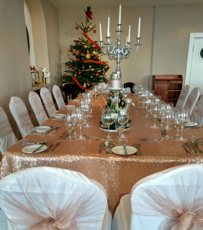 New Year Table Decor