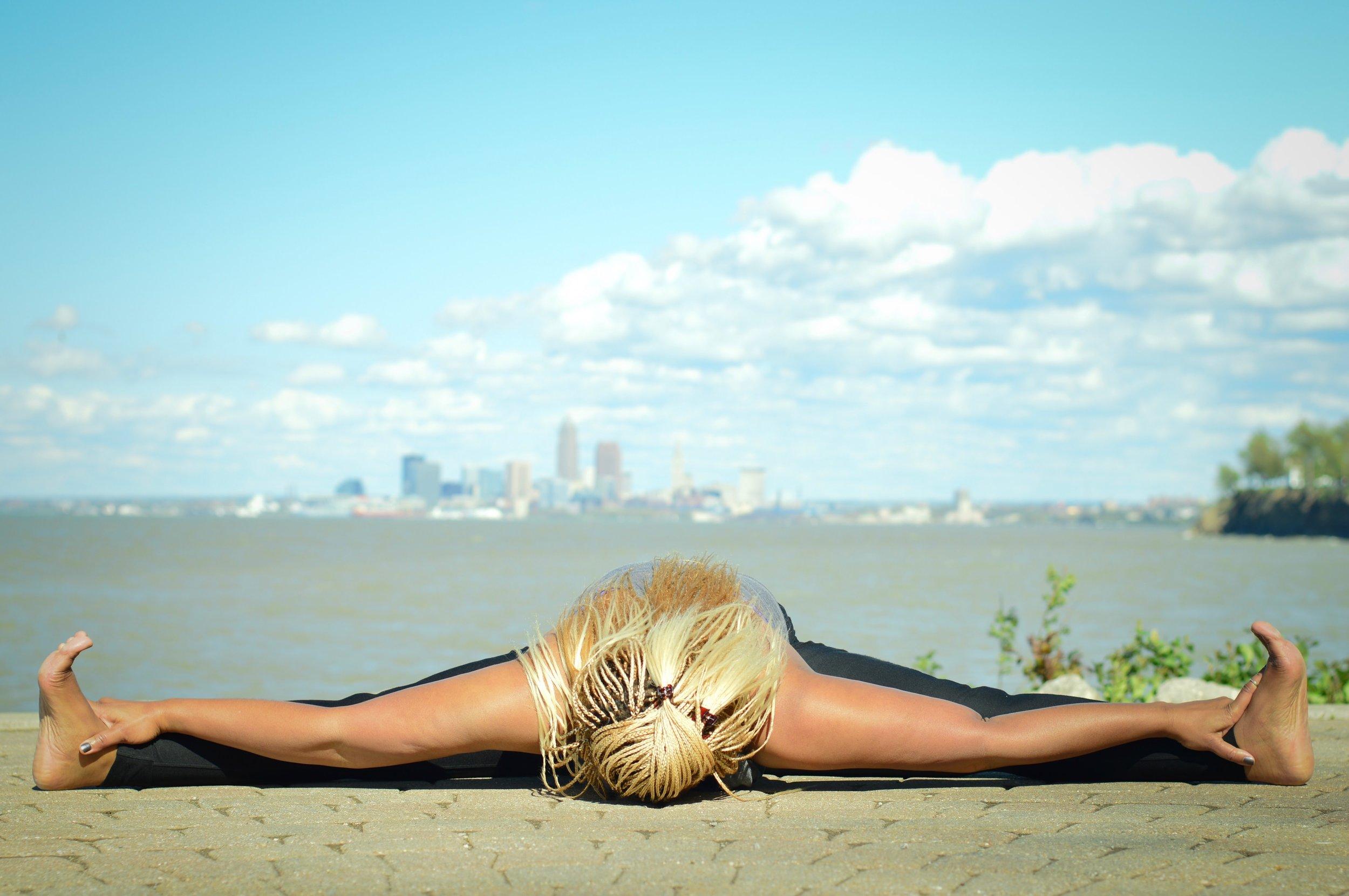 Bringing light to Cleveland through Yoga