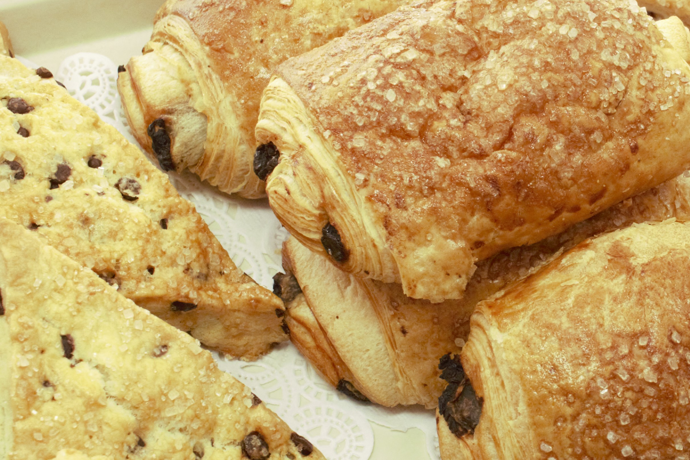 Scone and Croissant - Close Up.jpg