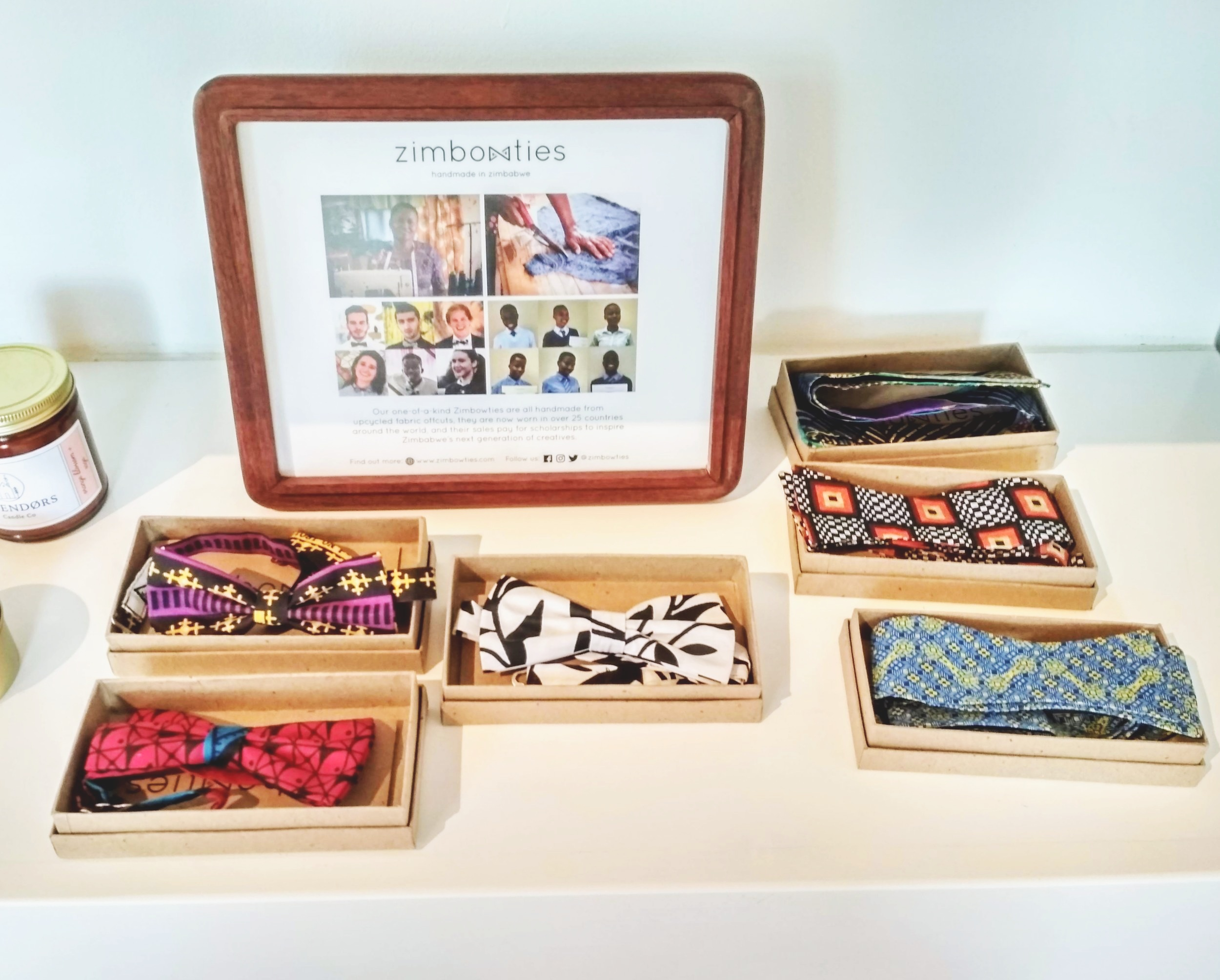 You can now find a selection of Zimbowties at the Boulder Museum of Contemporary Art