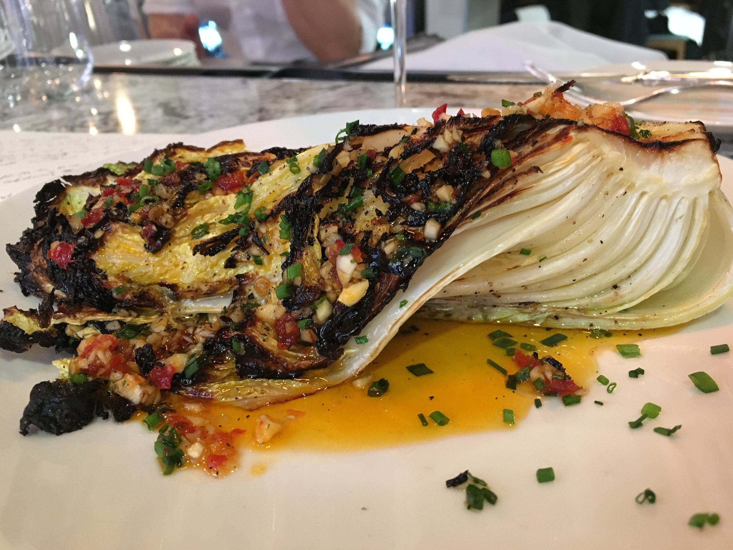 Cabbage rebooted. #realFood (Centrolina, Washington, DC)