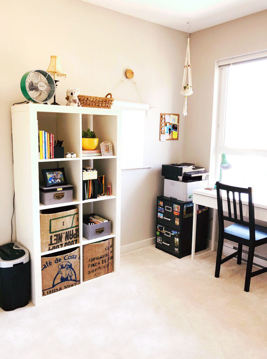 THE FUNKY FRESH / HOME OFFICE MAKEOVER