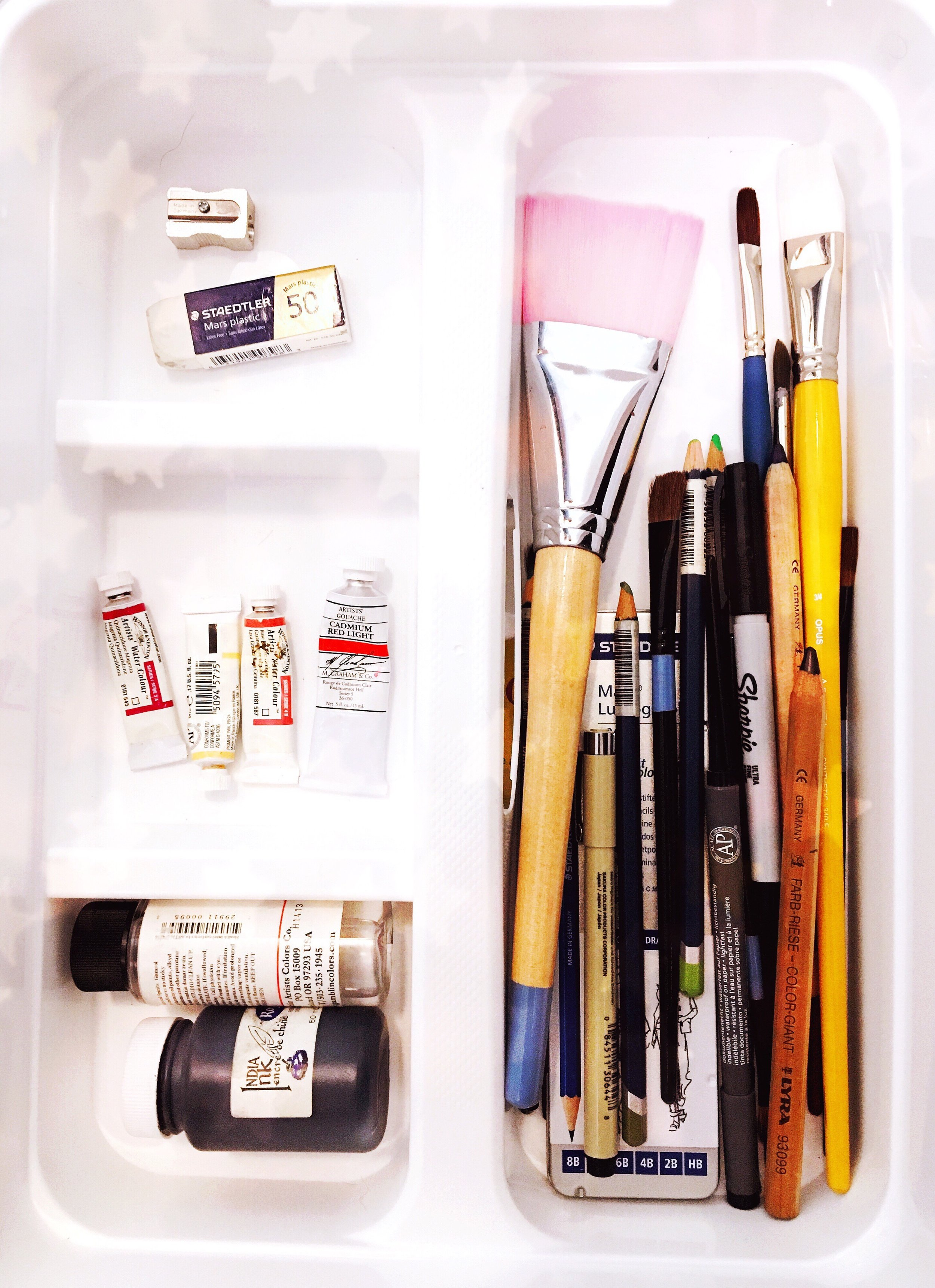 THE FUNKY FRESH / ART SUPPLIES ORGANIZATION
