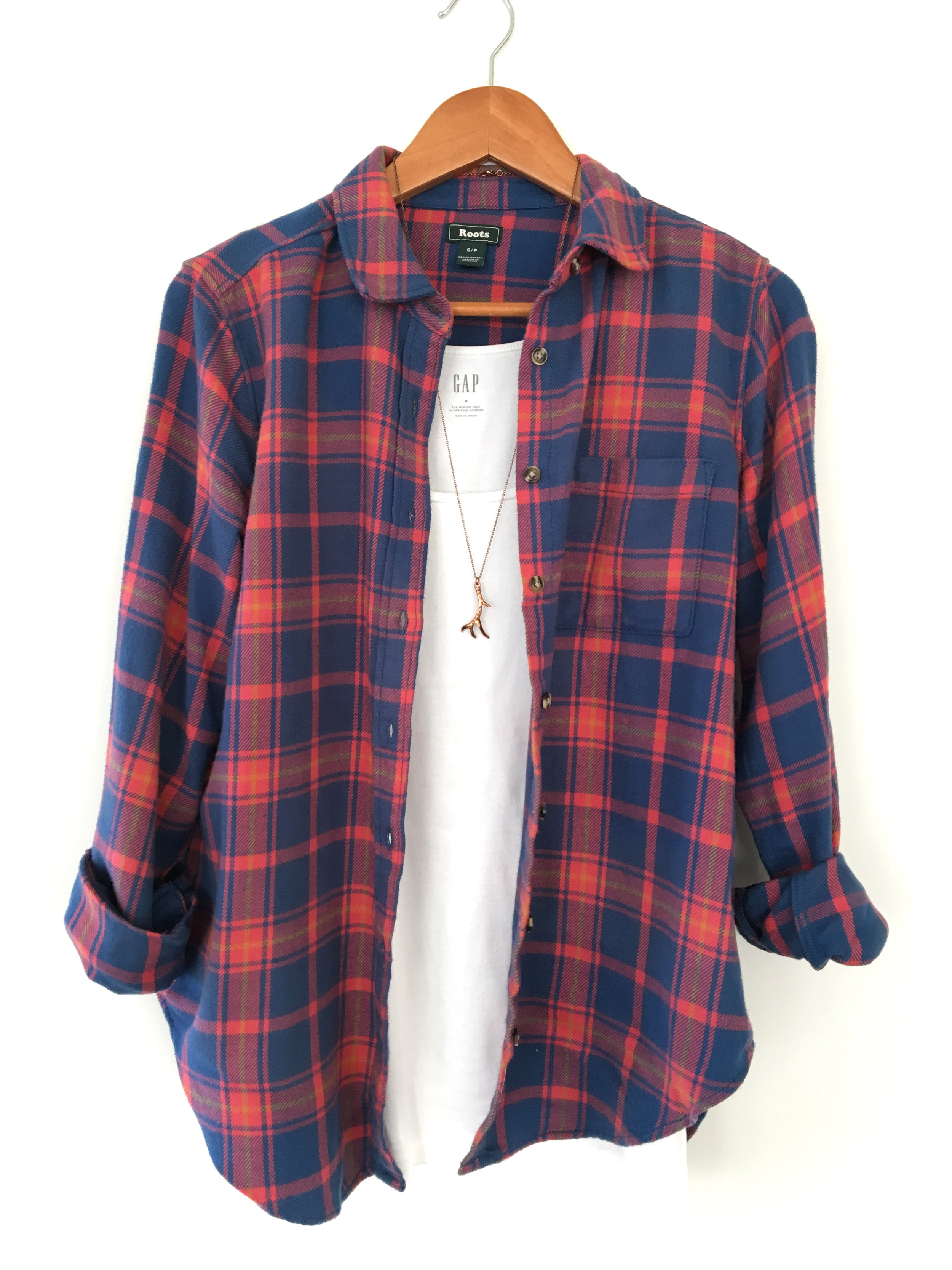 THE FUNKY FRESH / FLANNEL TOP