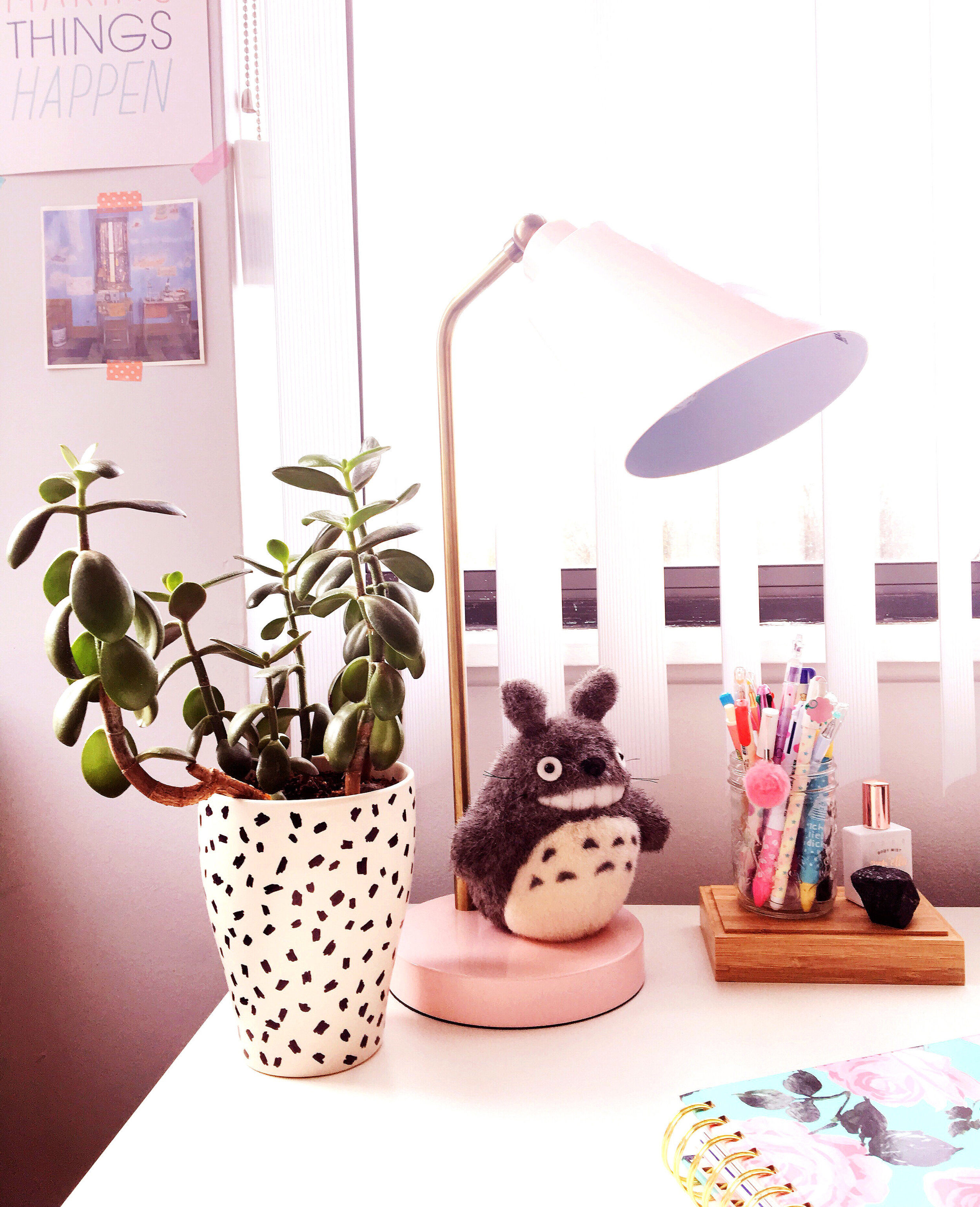 THE FUNKY FRESH / PINK JAPAN DESK DECOR