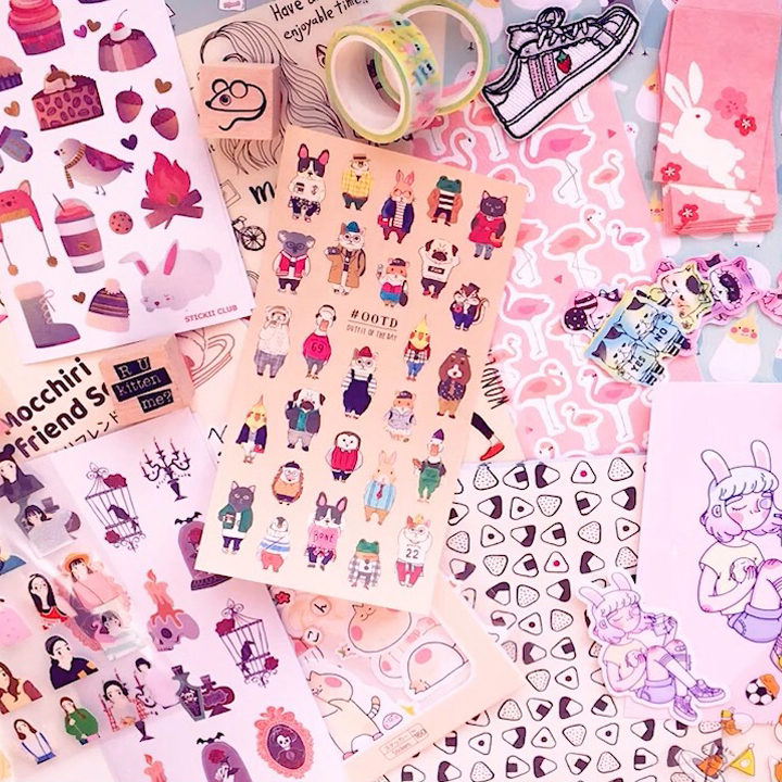 THE FUNKY FRESH / CUTE KAWAII STICKER COLLECTION