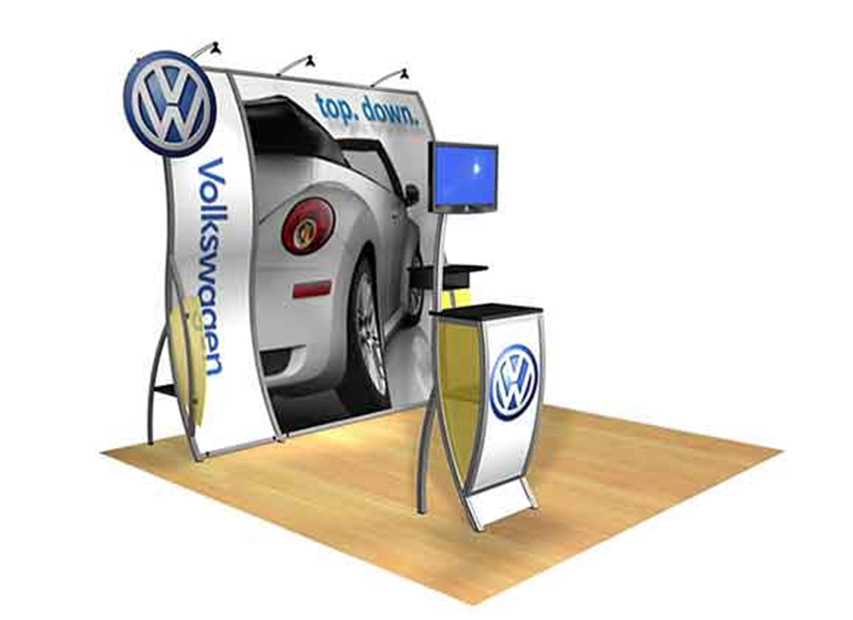 Tradeshow 10x10 booth   View >>