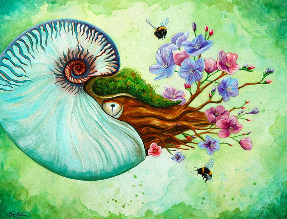 Dreaming Nautilus - for Changelings - Corina St Martin.jpg