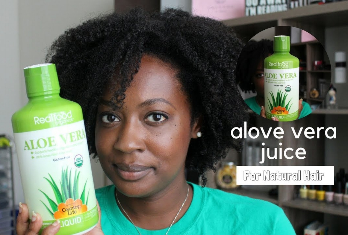 Aloe Vera For Black Hair