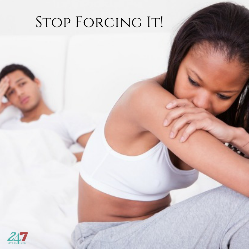 Stop Forcing It - Dating and Relationships