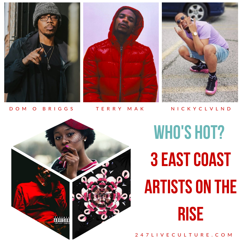 Who's Hot: 3 East Coast Artists On The Rise