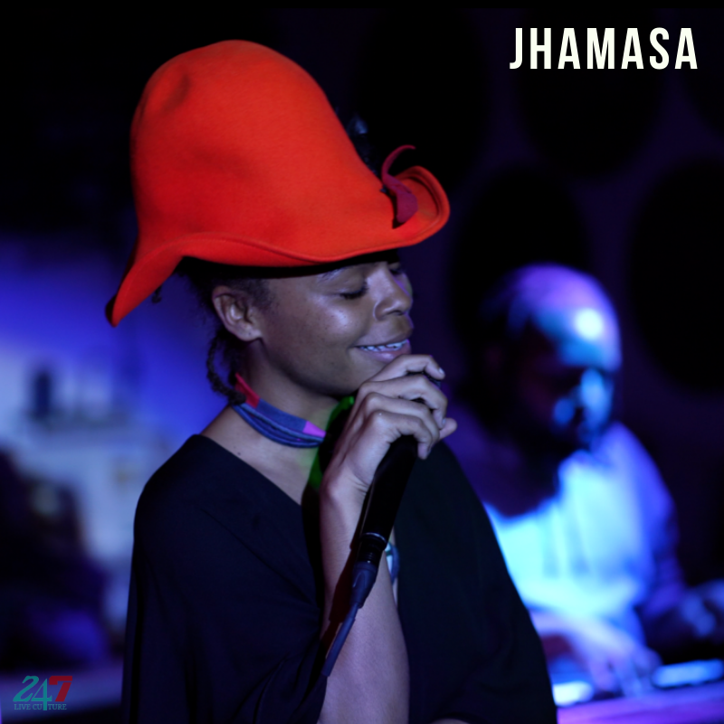 Jhamasa Performs Live At Late Sunday Afternoon