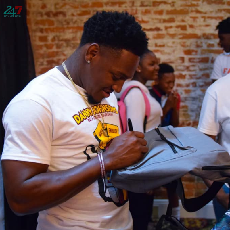 Redskins Cornerback And Southern University Product Danny Johnson Gives Away Over 350 Backpacks