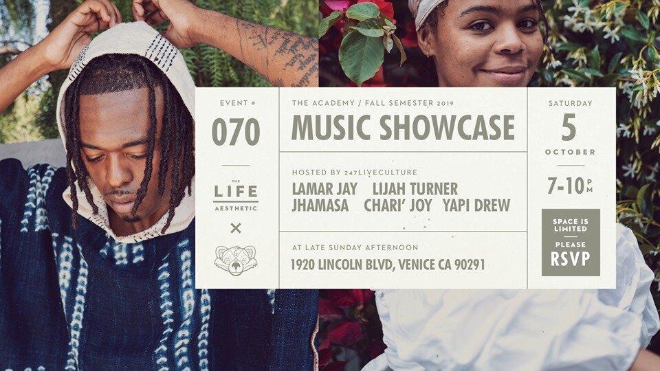 247 Live Culture Fall Music Showcase 10/05
