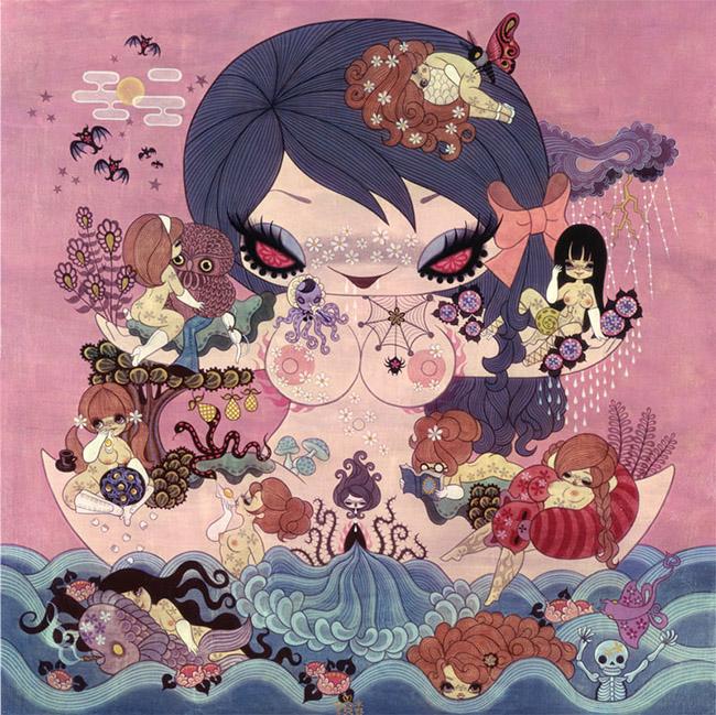 Yellowmenace: Junko Mizuno: Whimsically Weird Women